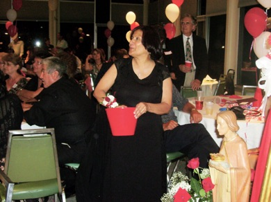Alicia Ramirez with the Raffle Bucket.jpg
