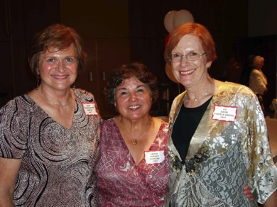 Mary Thornsberry, Grace Conant Garcia, Lu Smith 1957.jpg