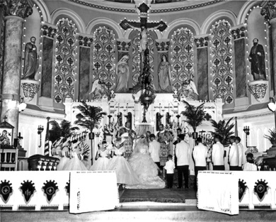 Grodek - Stassick Wedding September 13, 1958 - St. Casimir Church (1).jpg