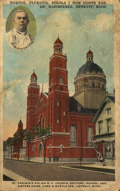 Postcard showing the convent (1885), school (1883), rectory (1887) and new church (1889).jpg
