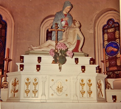 Side alter of second Church.jpg