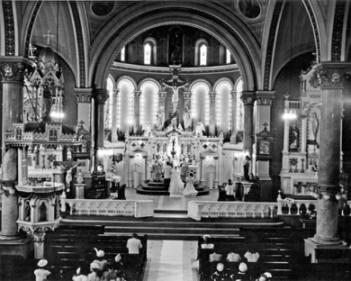 Wedding - St. Casimir Church 1950's.jpg