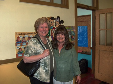 Kathy Wozniak and 3rd-4th grade teacher.jpg